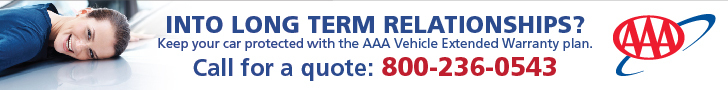 Potect your car and your wallet from costly repairs. Check out the AAA Extended Warranty Plan.