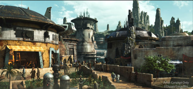 Star Wars Spire Outpost