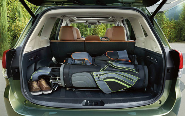 2019 Subaru Forester Cargo Space