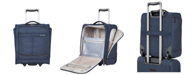 underseat carryon suitcase